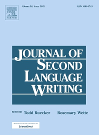 Cover image for Journal of Second Language Writing