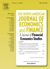 cover of The North American Journal of Economics and Finance