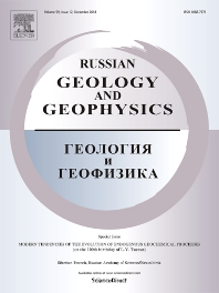 Cover image for Russian Geology and Geophysics