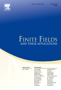Finite Fields and Their Applications - ISSN 1071-5797
