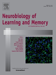 Neurobiology of Learning and Memory - ISSN 1074-7427