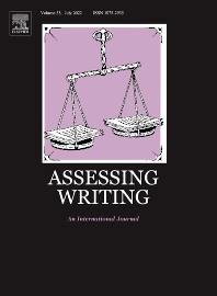 Cover image for Assessing Writing
