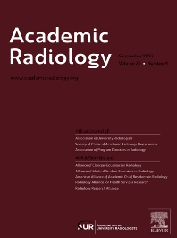 cover of Academic Radiology