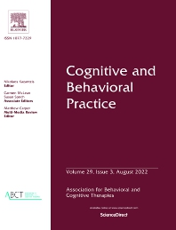 Cover image for Cognitive and Behavioral Practice