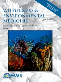 Wilderness & Environmental Medicine - ISSN 1080-6032
