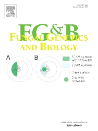 Fungal Genetics and Biology - ISSN 1087-1845