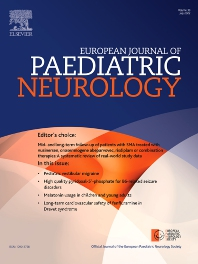 Cover image for European Journal of Paediatric Neurology