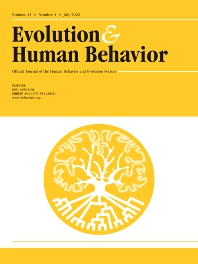 Evolution and Human Behavior - ISSN 1090-5138