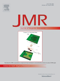 Cover image for Journal of Magnetic Resonance