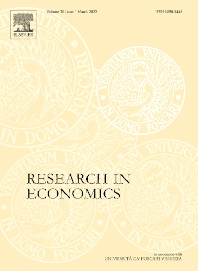 Research in Economics - ISSN 1090-9443