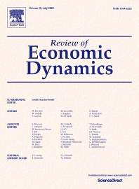 Review of Economic Dynamics - ISSN 1094-2025