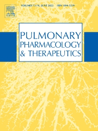 Cover image for Pulmonary Pharmacology & Therapeutics
