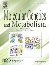Cover image for Molecular Genetics and Metabolism