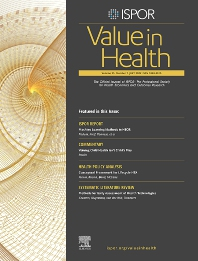 Cover image for Value in Health