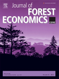 Cover image for Journal of Forest Economics
