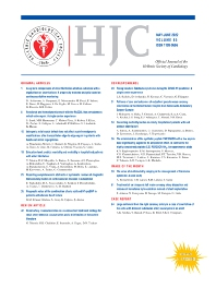 Cover image for Hellenic Journal of Cardiology