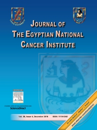 Cover image for Journal of the Egyptian National Cancer Institute