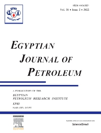 Cover image for Egyptian Journal of Petroleum