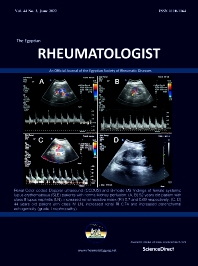 Cover image for The Egyptian Rheumatologist