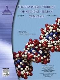 Cover image for Egyptian Journal of Medical Human Genetics