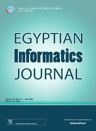 Cover image for Egyptian Informatics Journal