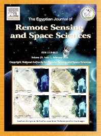 Cover image for The Egyptian Journal of Remote Sensing and Space Sciences