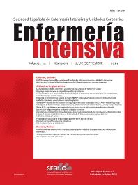 Cover image for Enfermería intensiva