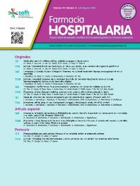 Farmacia Hospitalaria - ISSN 1130-6343