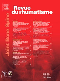 Cover image for Revue du Rhumatisme