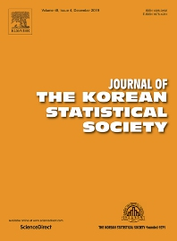 Cover image for Journal of the Korean Statistical Society