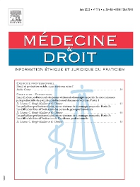 Cover image for Médecine & Droit