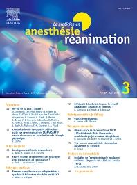 Cover image for Le Praticien en Anesthésie Réanimation