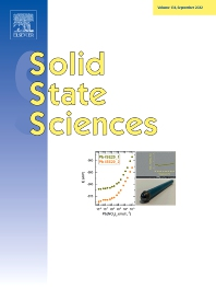 Cover image for Solid State Sciences