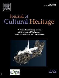 Cover image for Journal of Cultural Heritage