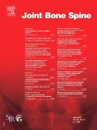 Cover image for Joint Bone Spine