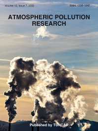 Cover image for Atmospheric Pollution Research