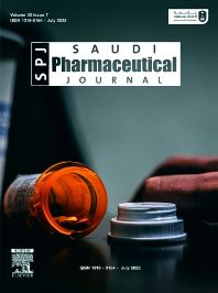 Cover image for Saudi Pharmaceutical Journal