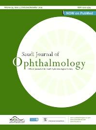 Saudi Journal of Ophthalmology - ISSN 1319-4534