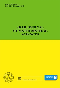 Cover image for Arab Journal of Mathematical Sciences