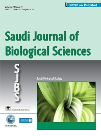 Cover image for Saudi Journal of Biological Sciences