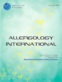 Allergology International - ISSN 1323-8930