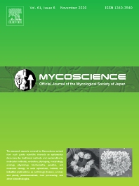 Cover image for Mycoscience