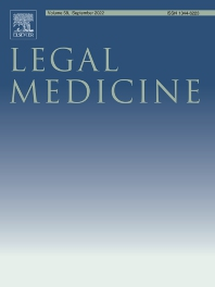 Cover image for Legal Medicine