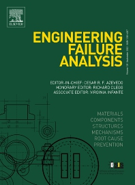 Engineering Failure Analysis - ISSN 1350-6307