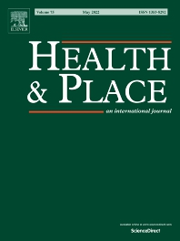 Cover image for Health & Place