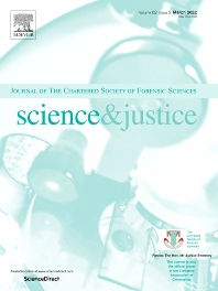 Cover image for Science & Justice
