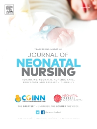 Cover image for Journal of Neonatal Nursing