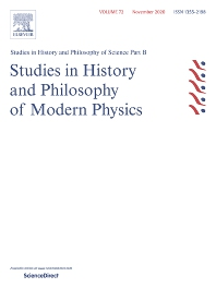 Studies in History and Philosophy of Science Part B: Studies in History and Philosophy of Modern Physics - ISSN 1355-2198
