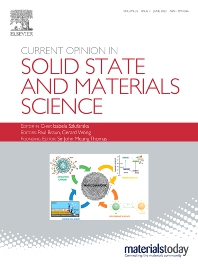 Cover image for Current Opinion in Solid State & Materials Science