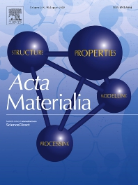 Cover image for Acta Materialia